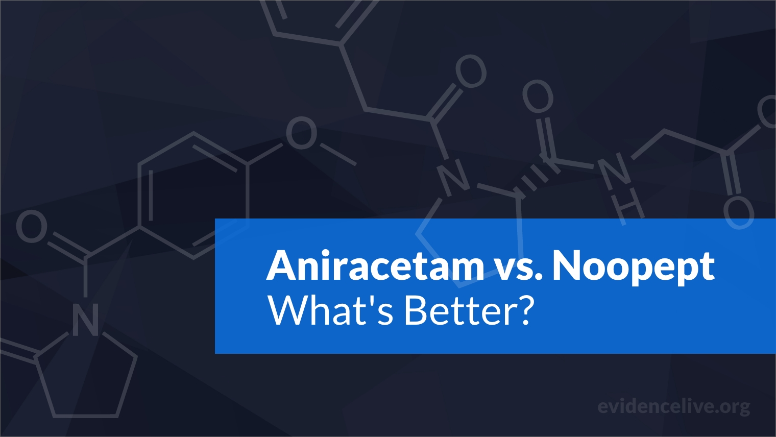 Aniracetam vs. Noopept: Differences and What's Better