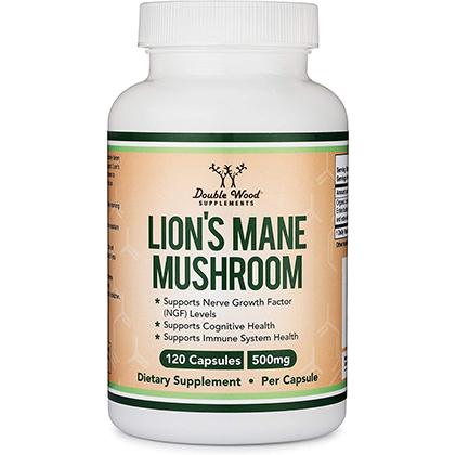 Double Wood Supplements Lion's Mane Mushroom