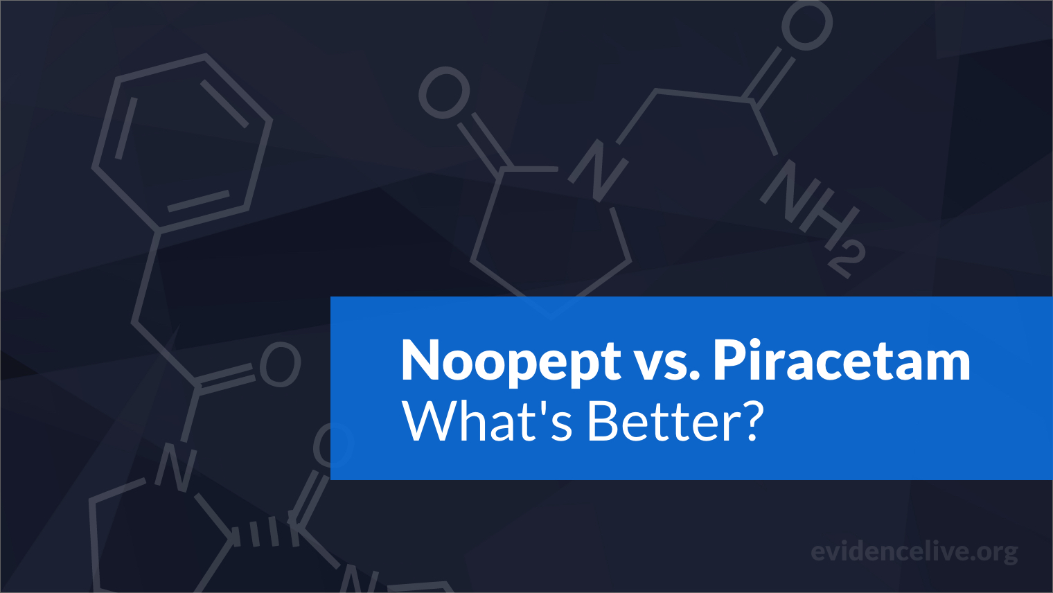 Noopept vs. Piracetam: Differences and What's Better