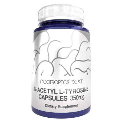 Nootropics Depot N-acetyl L-tyrosine Capsules