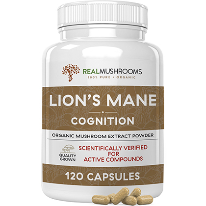 Real Mushrooms Lion's Mane Capsules